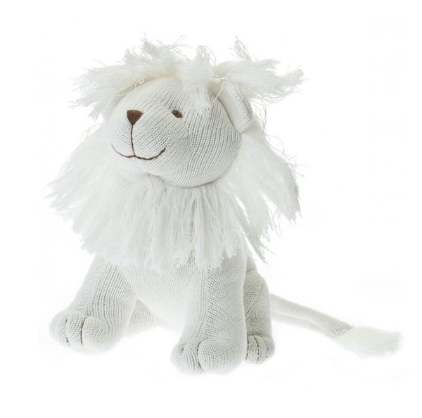 View larger image of Large Knit Lion - Ivory