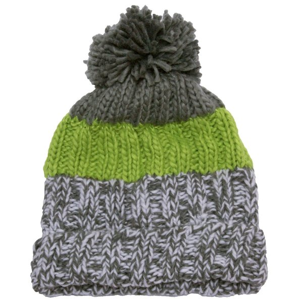View larger image of Knit Pom Hat-L-Green