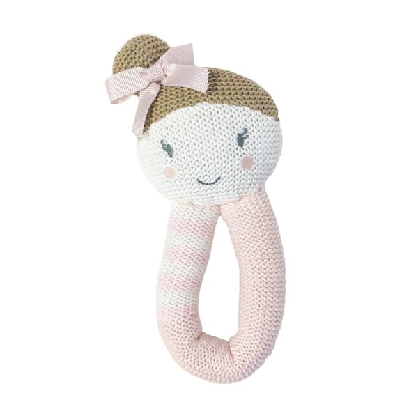 View larger image of Knit Rattle - Amy Mermaid