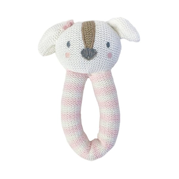 View larger image of Knit Rattle - Ms. Rory Puppy