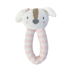 Knit Rattle - Ms. Rory Puppy