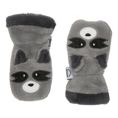 Animal Infant Mitt - Racoon