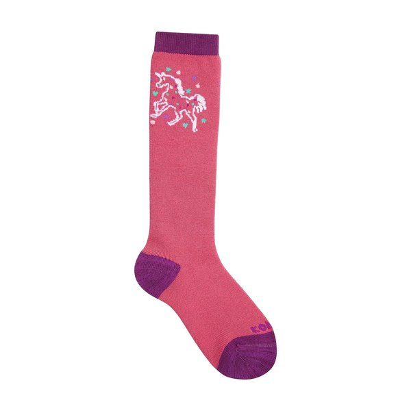 View larger image of Girly Socks - Bright Pink