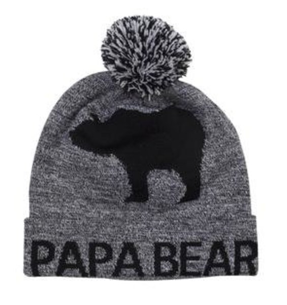 View larger image of Papa Bear Toque w/Canada Flag
