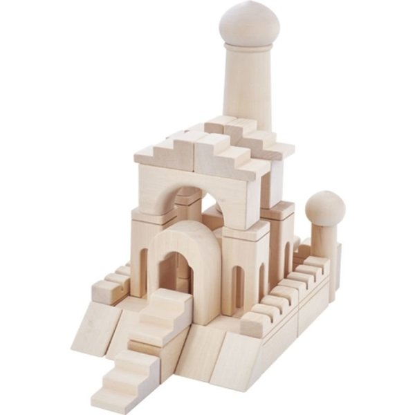 View larger image of Alladin's Palace Wooden Block Set