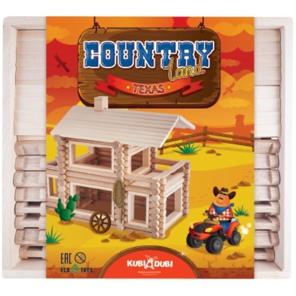 View larger image of Texas Wooden Block Set