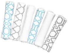 Wash Cloths - 6 Pack Prints
