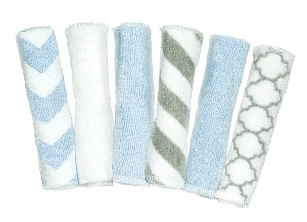 View larger image of Wash Cloths - 6 Pack Prints