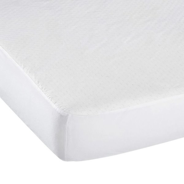 View larger image of Light Waterproof Crib Sheet Cover - White