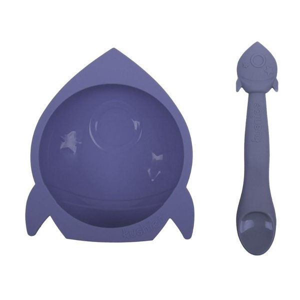 View larger image of Silibowl and Spoon Set