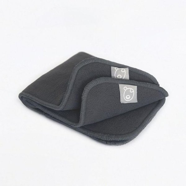 View larger image of Charcoal Bamboo Inserts - 2 Pack