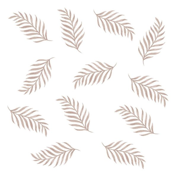View larger image of Wall Decals - Leaves