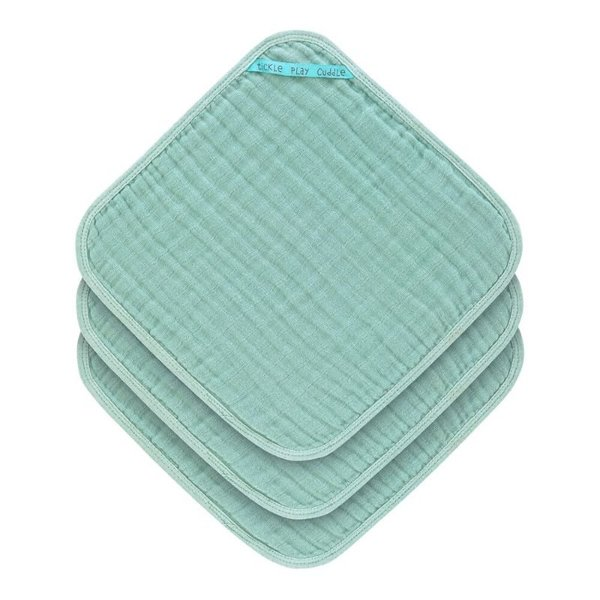 View larger image of Muslin Washcloth Set - 3pc