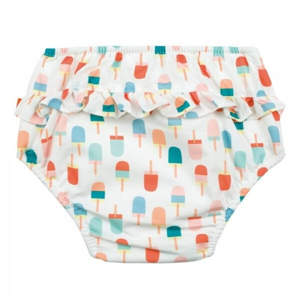 View larger image of Swim Diaper + Sun Hat Sets - Girls