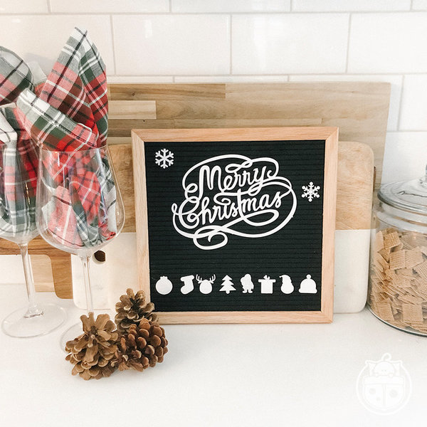 View larger image of Christmas Letter Board