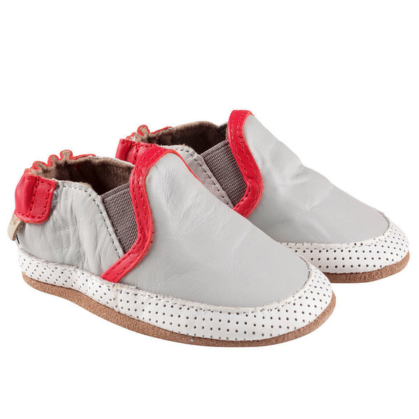 View larger image of Liam Soft Sole Shoes - Grey