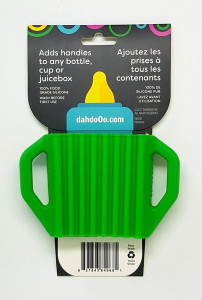 View larger image of Lil' Grips Universal Silicone Handles - Green