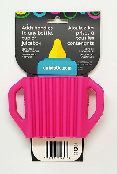 View larger image of Lil' Grips Universal Silicone Handles - Pink