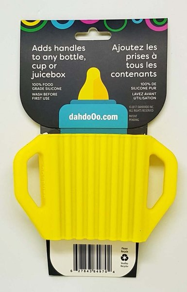 View larger image of Lil' Grips Universal Silicone Handles - Yellow