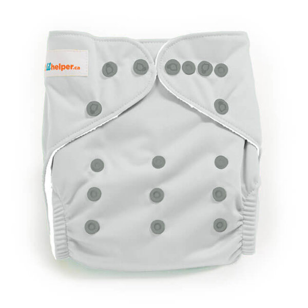 View larger image of Charcoal Cloth Diapers