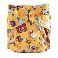 Print Cloth Diapers