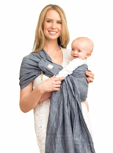 View larger image of Ring Sling Baby Wrap