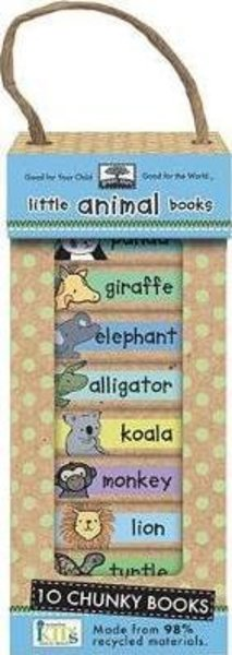 View larger image of Green Start - Little Animal Book Tower