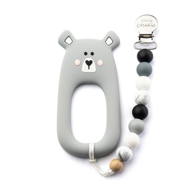 View larger image of Bear Teether and Clip