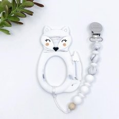Fox Teether and Clip