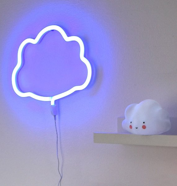 View larger image of Neon Light - Cloud - Blue