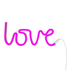 Neon Light - Love - Pink