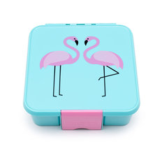 Bento Three Lunch Box - Flamingo