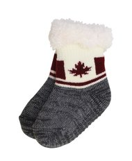 Canada Flag Infant Comfy Socks