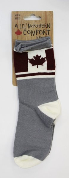 View larger image of Canada Flag Kids Socks