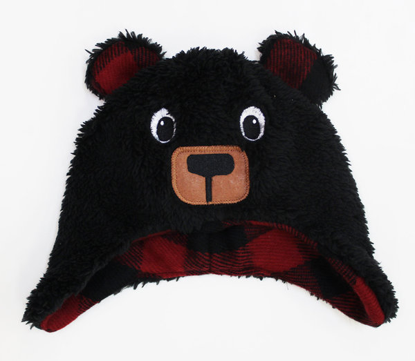 View larger image of Infant Bear Fuzzy Hat