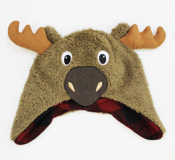 View larger image of Infant Moose Fuzzy Hat