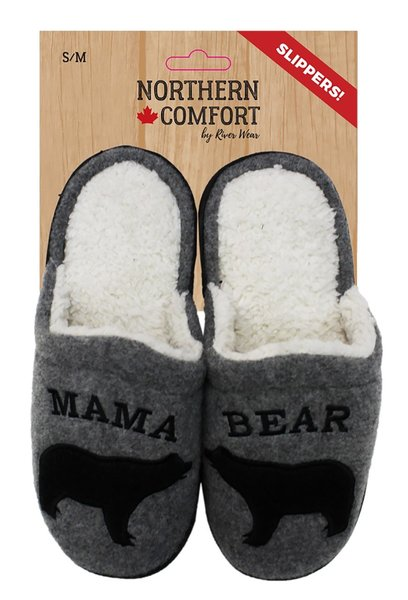 View larger image of Mama Bear Slippers