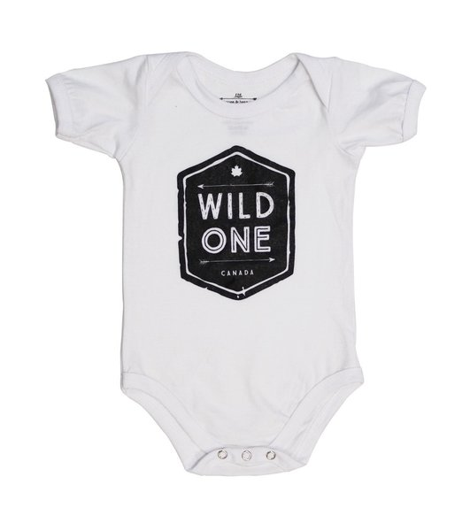 View larger image of Wild One Onesie - White