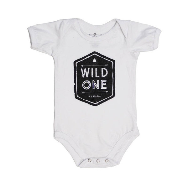 View larger image of Wild One White Onesie - 18 Months