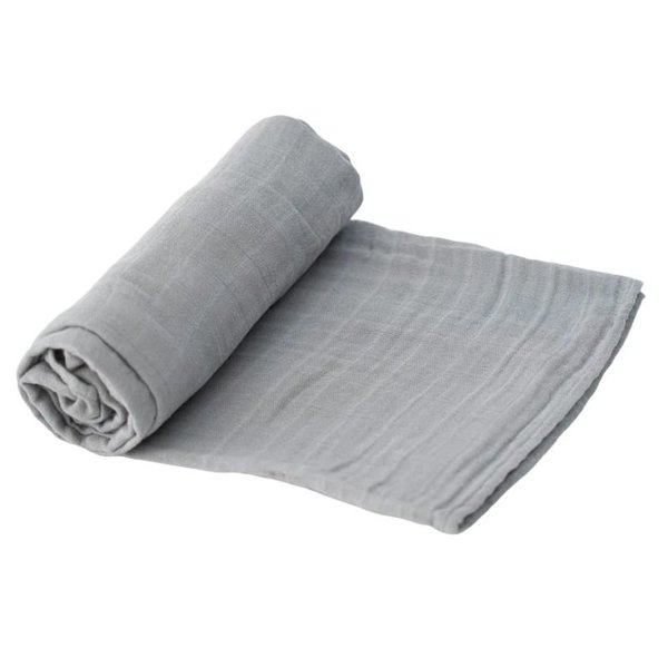 View larger image of Cotton Muslin Swaddle - Solid Colours