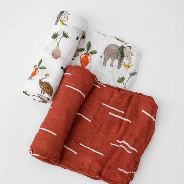 View larger image of Muslin Deluxe Swaddle - 2 Pack