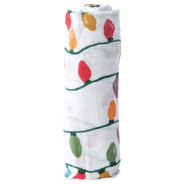 View larger image of Muslin Swaddle-Christmas Bulb