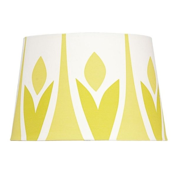 View larger image of Lamp Shade - Green Leaf