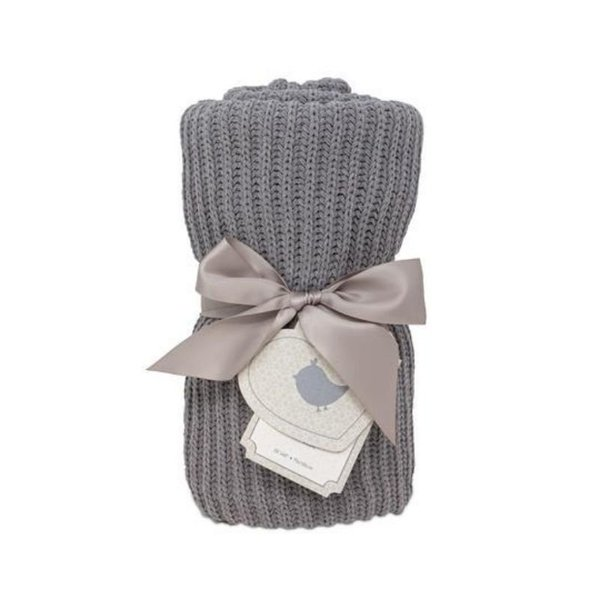 View larger image of Ribbed Knitted Baby Blankets