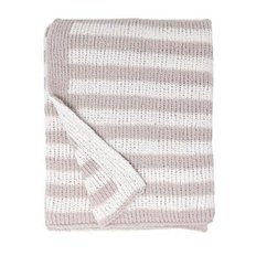 Striped Chenille Blankets
