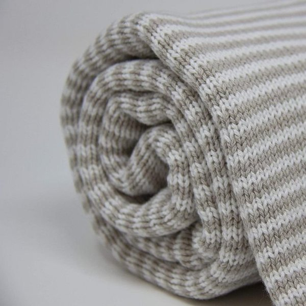 View larger image of Striped Cotton Knit Blankets
