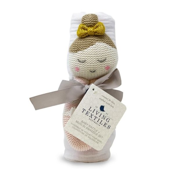 View larger image of Swaddle & Rattle Sets