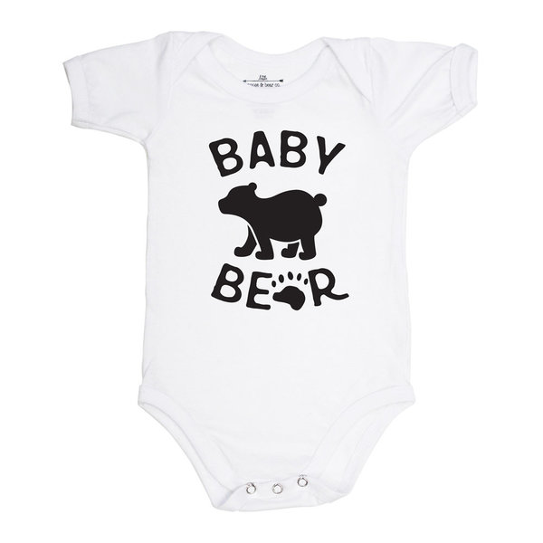 View larger image of Baby Bear Onesie - White