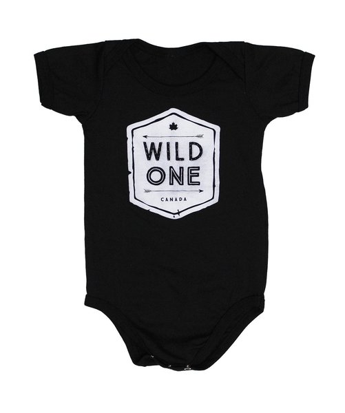View larger image of Wild One Onesie - Black