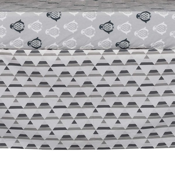 View larger image of Bed Skirt - Grey Triangle